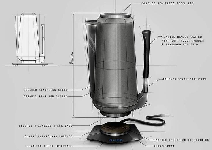A freelance, Japanese inspired, concept design for Denka Design Consultancy  ______________________________ #industrialdesign #productdesign #idsketching #Wacom #ceramic #digitalillustration #conceptsketch #rendering #kettle #induction #ergonomics #sketch #drawing #photoshop #digitalart #digital