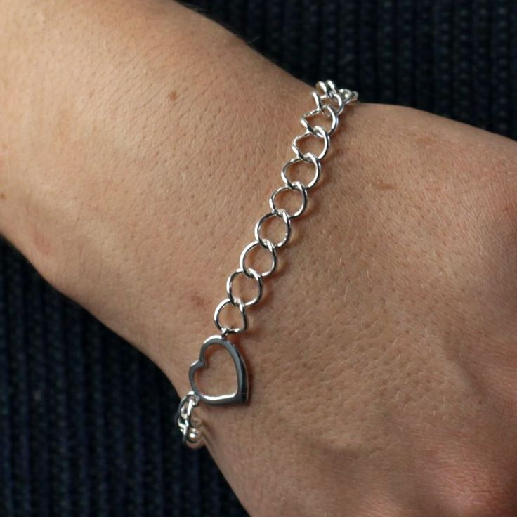 Buy our Australian made Sterling Silver Bracelet - Berenice online. Explore our range of custom made chain jewellery, rings, pendants, earrings and charms.