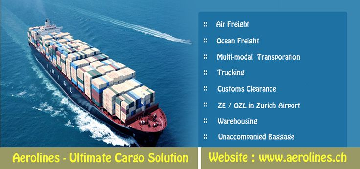 Aerolines - Ocean Freight Services
