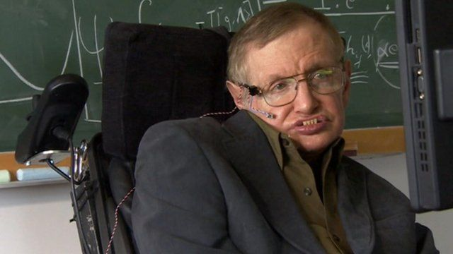 BBC - Stephen Hawking discusses discovery of Higgs boson particle....