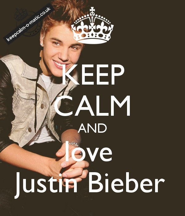 32 best Keep calm and … quotes!! (⌒.−)★ images on ... Justin Bieber Quotes About Love