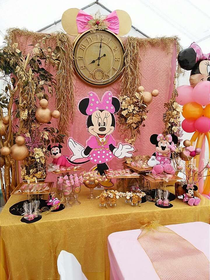 Minnie Fairy Tail Land Birthday Party Ideas Minnie Mouse
