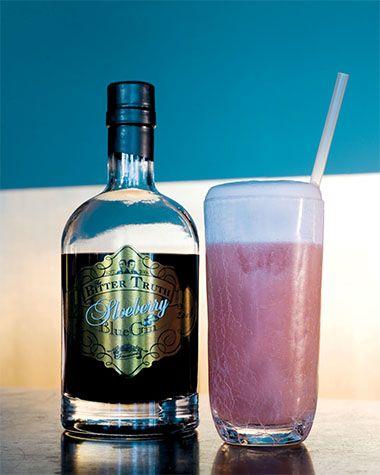 Sloeberry Gin Fizz http://njam.tv/recepten/sloeberry-gin-fizz