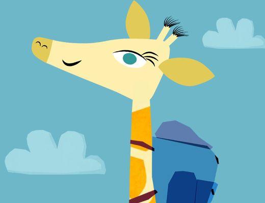 Le Voyage d'Adeline la girafe - application invite les enfants à explorer librement 5grandes régions du monde (Sahel-Soudan, Patagonie, Amazonie, Europe, Madagascar). App Store et sur Google play, gratuite. . Au fil du jeu, ils apprennent à identifier les espèces animales et végétales de notre planète en partant à la recherche d'Adeline, la girafe intrépide du Parc Zoologique de Paris qui s'est lancée ...