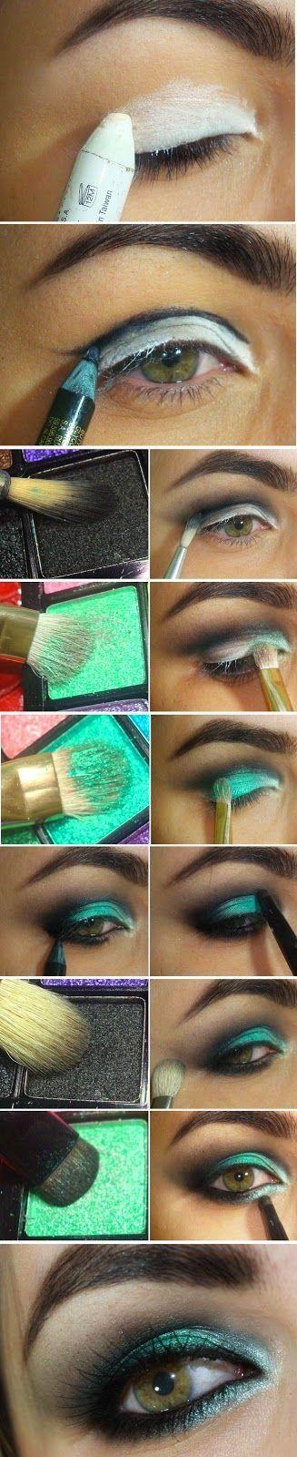 GreenWash Mint Makeup Tutorials | Love Makeup / Best LoLus Makeup Fashion: