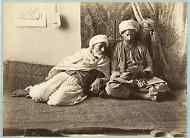 Algérie, Types algériens, Hommes arabes Vintage print. Tirage argentique  19