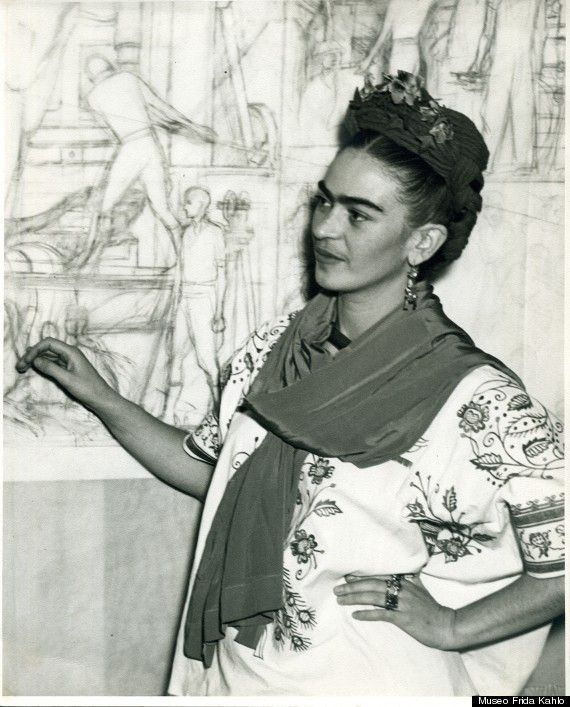 Frida Kahlo, Fashion Icon On Display In 'Appearances Can be Deceiving' Exhibition In Mexico