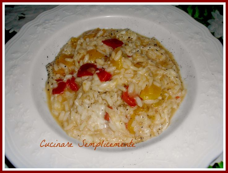 cucinare semplicemente: Risotto ai peperoni