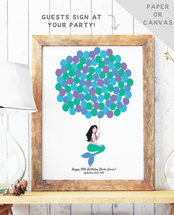= 25+ best ideas about Birthday guest books on Pinterest