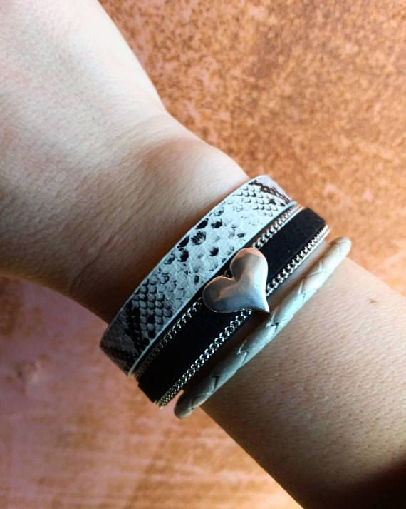 Check out this item in my Etsy shop https://www.etsy.com/listing/579307332/leather-bracelet-with-silver-charm
