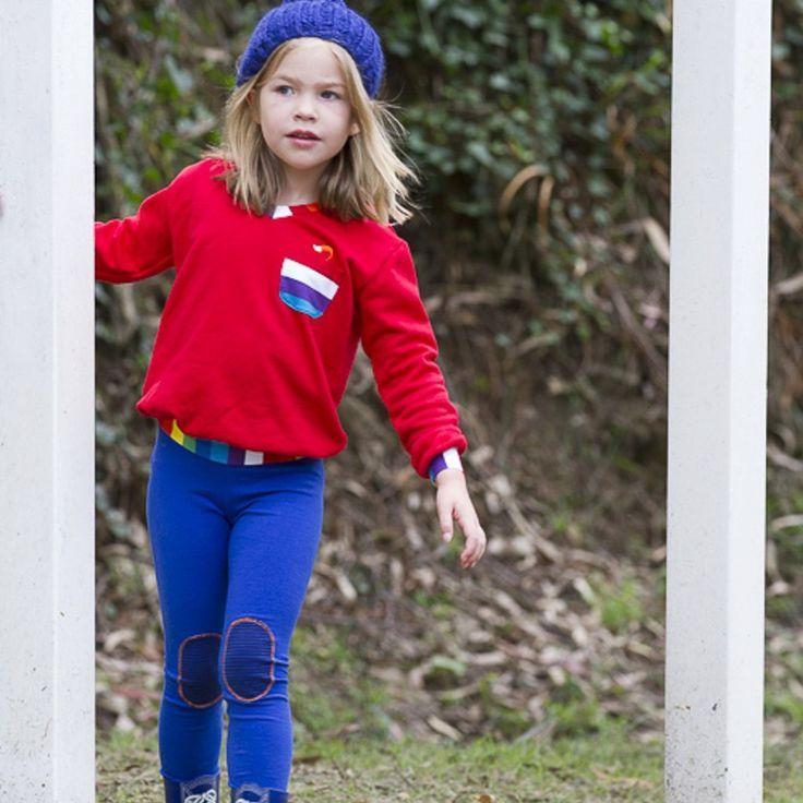 Blueberry Cloud - Unisex Childrens Leggings