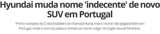 SONIA FURTADO: O LANÇAMENTO DA HYUNDAI - ETA NOME DA P*%##@!....