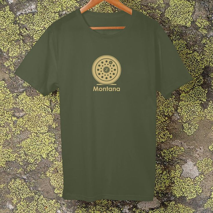 Montana Fly Reel, t-shirt