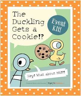 Do your patrons enjoy the Pigeon books by Mo Willems?  If so, then they will undoubtedly enjoy The Duckling Gets a Cookie  which is the late...