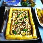 Krokante+courgette+taart+met+basilicum+&+feta