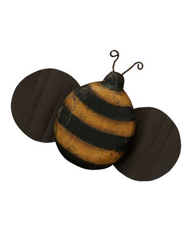 Take A Look At This Small Wooden Bumblebee By Primitives Kathy On Zulily Today