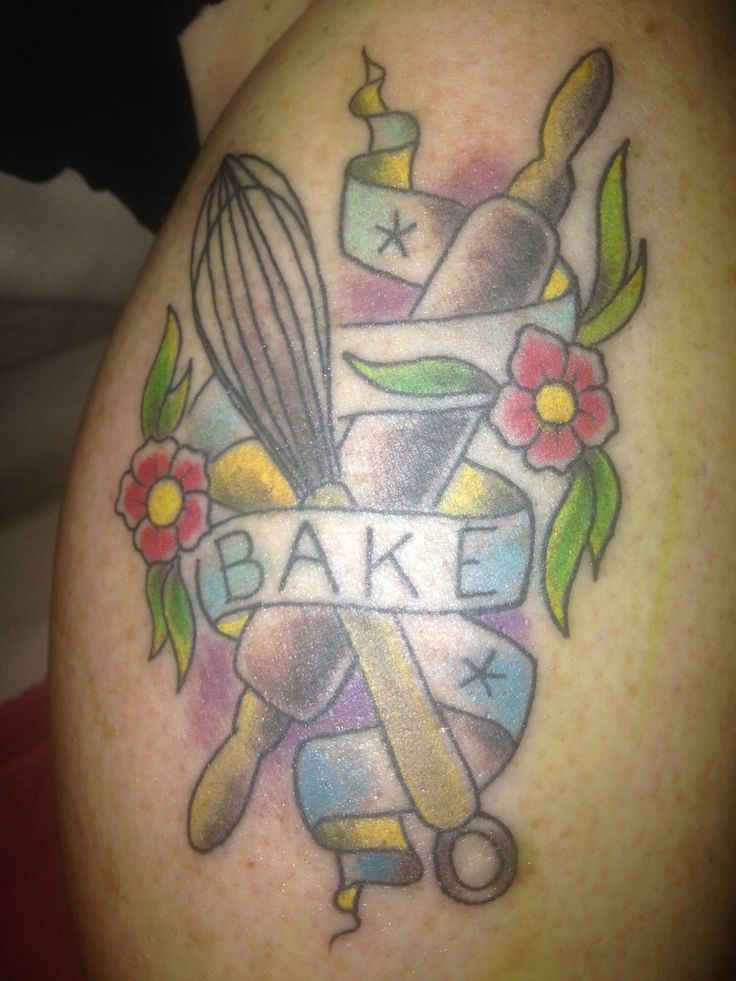 Baking And Pastry Tattoos Tattoos on pinterest  baking
