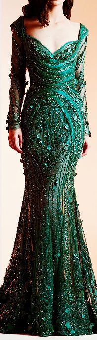 Ziad Nakad Haute Couture Spring/Summer 2014 #promdress jjdress.net