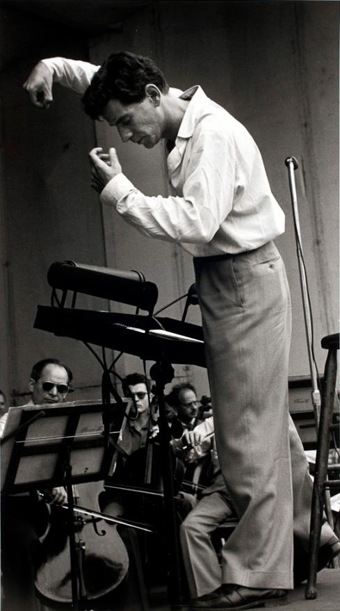 Leonard Bernstein is my favorite conductor of all time and another job opportunity I would take is to teach music!