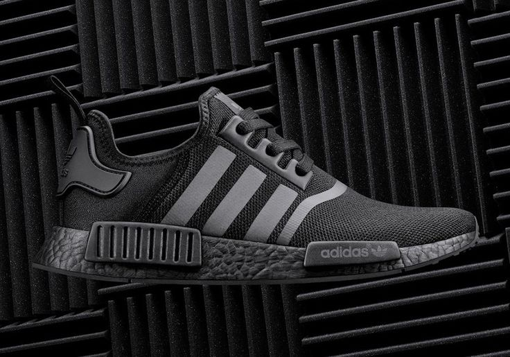 The adidas NMD Triple Black will release on September 17th. The upcoming NMD release features mesh, black Boost, and reflective three stripe branding.