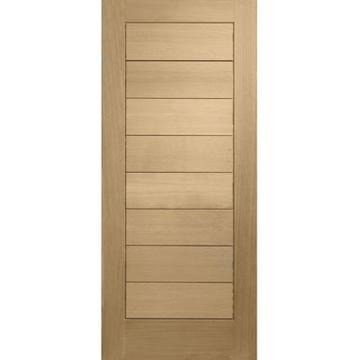 Front doors external oak doors and oak doors on pinterest for Flush exterior door