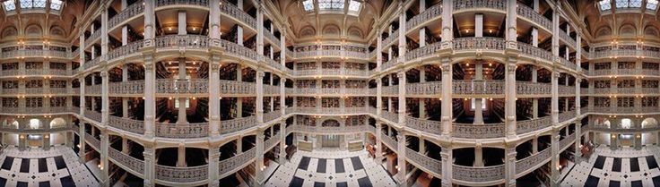 George Peabody Library, Baltimore, 2010