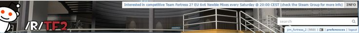 Anyone else notice the sentries in the r/tf2 banner dissapeared? #games #teamfortress2 #steam #tf2 #SteamNewRelease #gaming #Valve