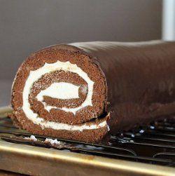 Copycat recipe - Little Debbie Swiss Roll  #copycat