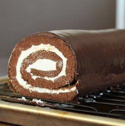 Copycat recipe - Little Debbie Swiss Roll  #copycat