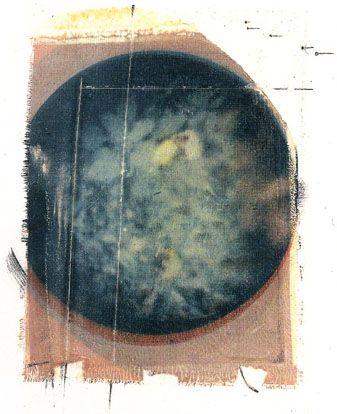 """Paolo Gioli, """"Veduta maledetta"""", 1986, Cibachrome stenopeica (pinhole photography), cm 25x35 (Museo del Paesaggio, Verbania)"""