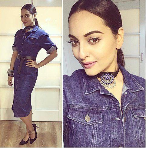 Sonakshi Sinha In H&M