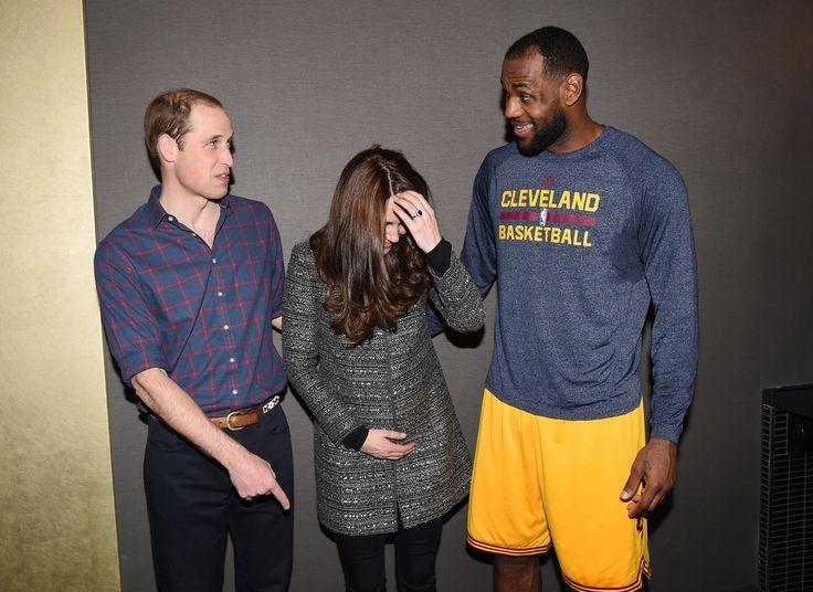 Kate Middleton Photos: British Royals Go to a Basketball Game