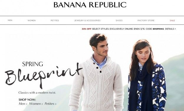 In the present scenario, more peoples are finding out that you will find plenty of goods and services easily available at astonishing discounts with coupon codes. Consequently particular option is available in shopping online -- Banana Republic promo code 2015 --- http://bananarepubliccoupon.com/