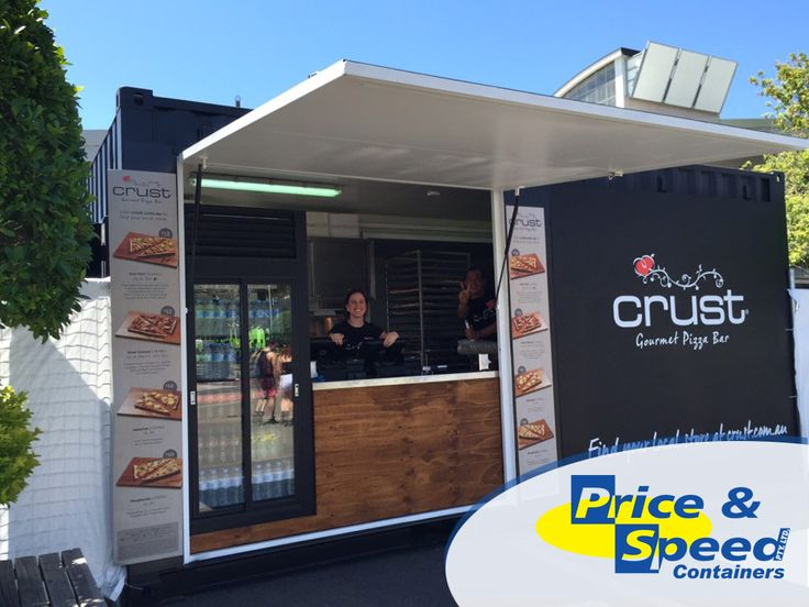 Crust Mobile Container Pizza Store