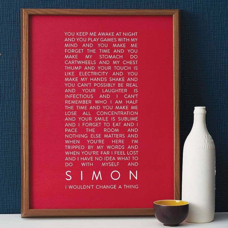 On my List for our home together from Notonthehighstreet