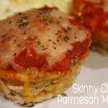 Skinny Chicken Parmesan 'Muffins'