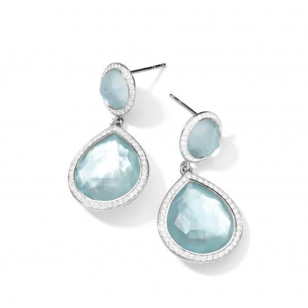 Ippolita Silver Single Dangle & Drop Earrings lOOvaU