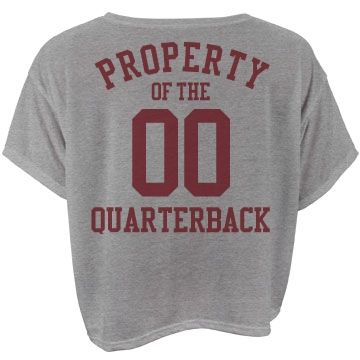 """Property of the quarterback 
