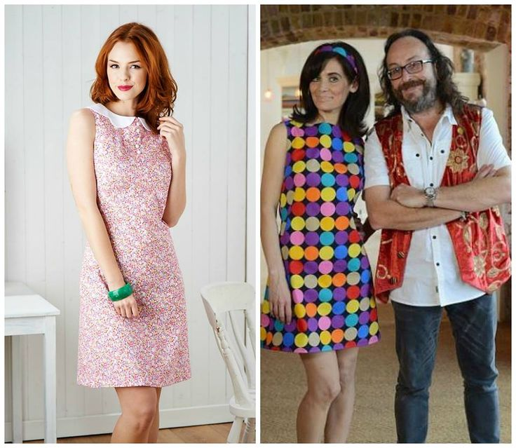 Dave's gorgeous dress from the Children in Need Sewing Bee was Simplicity 1609. You'll already have it if you got the July issue of Sew! This is our version - it's a fab pattern!