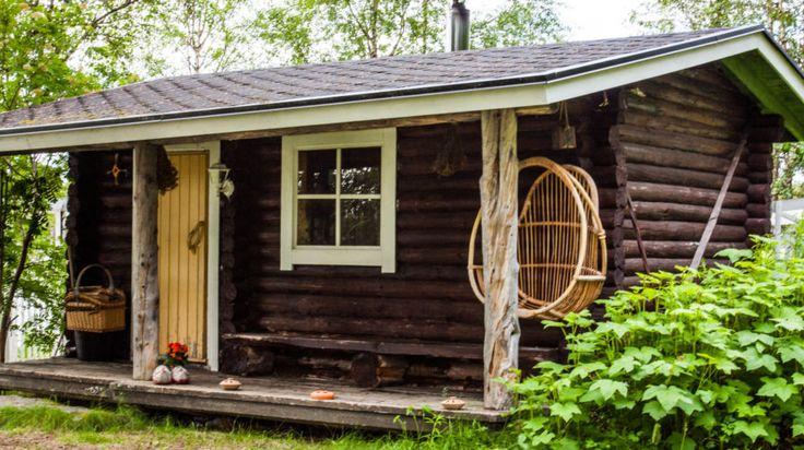 Finnish Sauna -Rovaniemi, Lapland, Finland
