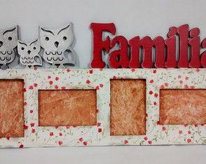 Painel de Fotos Família