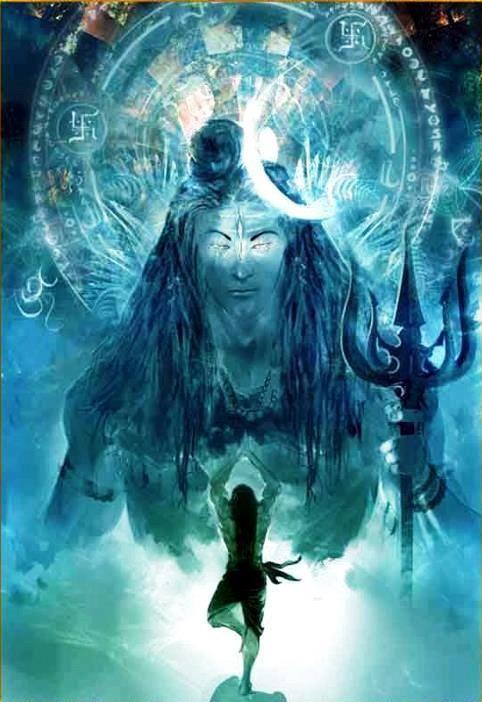 I love seeing how artists interpret Shiva! Fascinating stuff :)