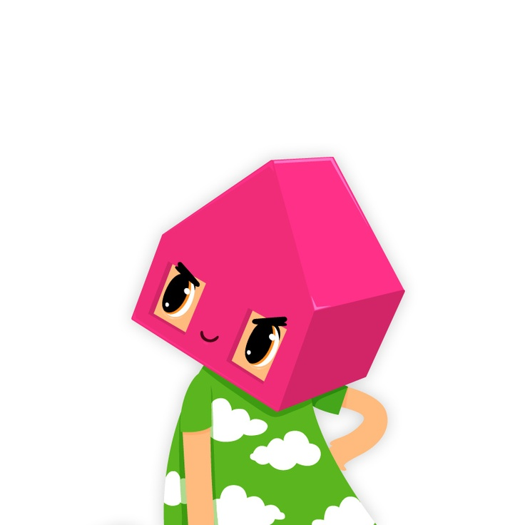 The character Nova in Toca House by Toca Boca. http://itunes.apple.com/us/app/toca-house/id495680460?mt=8 #apps #kids #children #ipad #iphone #tocaboca #tocahouse