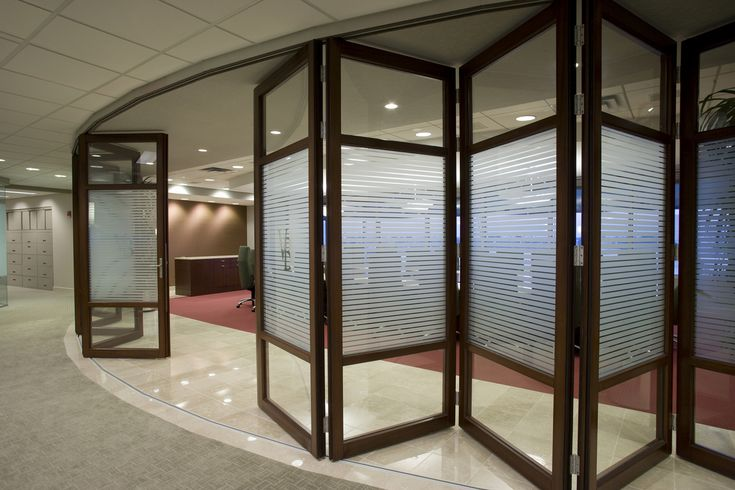 Folding Glass Walls : Nanawall folding door system at the vandeventer black