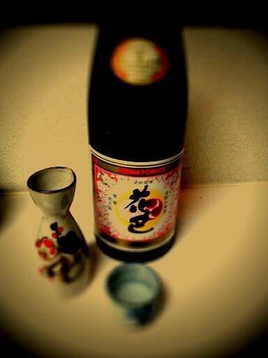 Hanatomoe (Rice Wine)  taken by Yasuhiro Masuo