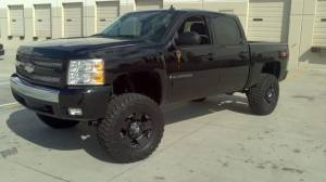 My dream truck with a pink Chevy symbol :-)