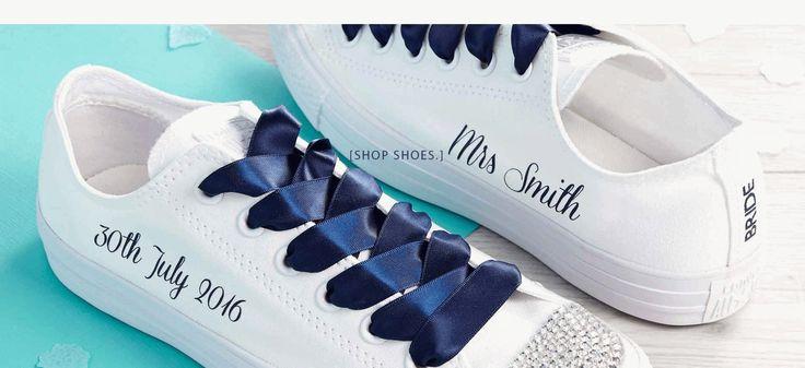 unique bride groom converse wedding converse with regard to unique blue wedding shoes
