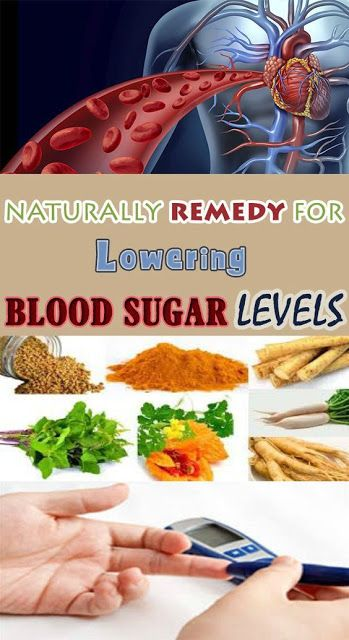 NATURAL REMEDIES FOR LOWER BLOOD SUGAR