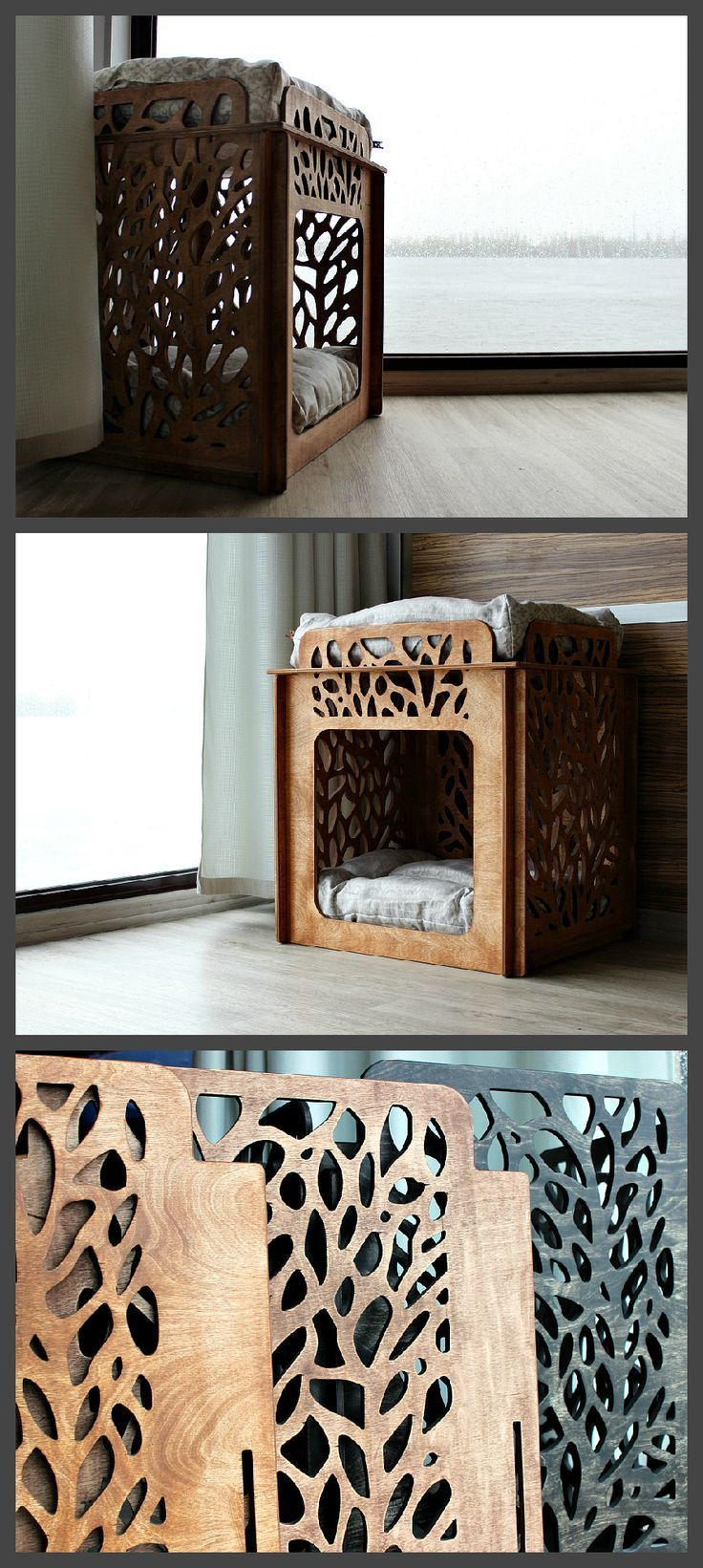 Cat house – For two cats. Cat bed, luxury cat bed, cat hammock, pet bed, pet hammock bed, dog hammock bed, lttle dog bed, stylish cat bed