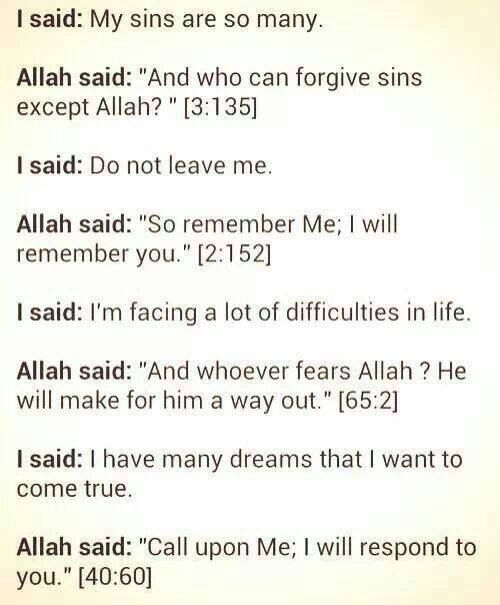 Call on HIM- the Most Merciful, the Most Gracious, for HE is always there when you need someone!!